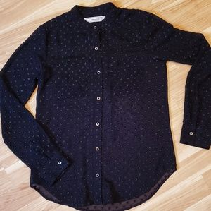 Abercrombie & Fitch Sheer Button Down